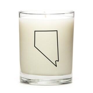 Custom Gift - Map Outline of Nevada U.S State, Peach Belini