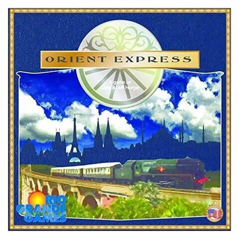 Rio Grande Games Orient Express Board Game