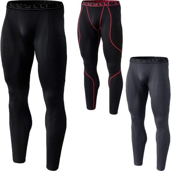 a4eafd8b9d4e8 Shop TSLA Tesla YUP43 Thermal Winter Gear Baselayer Compression Pants -  Free Shipping On Orders Over $45 - Overstock - 25636503