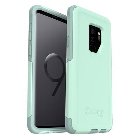 OtterBox Commuter Series Case - Lightweight, Protective, Compact for Samsung Galaxy S9 Plus (ONLY)- Ocean Way, Aqua Sail Aquifer