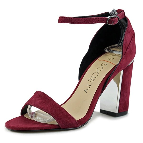 Sole Society Paden Women Burgundy Pumps