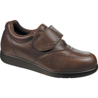 Drew Men's Navigator II Brown Pebbled Leather