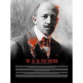 W.E.B. Du Bois Poster w/ Bio Black History (18x24)