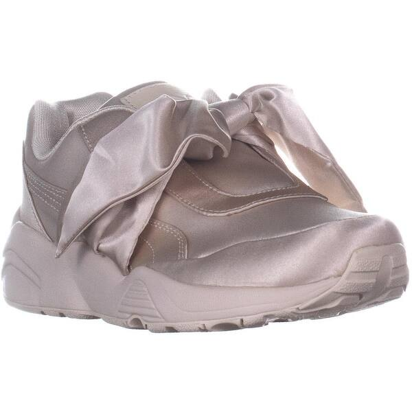 huge selection of 9bf28 3ab4b Shop Puma Fenty Bow Sneaker Slip On Fashion Sneakers, Pink ...