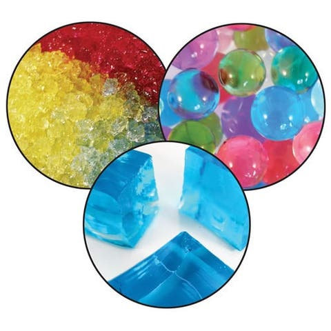 Shapes and Colors Discovery Set (Water Beads, Stones, and Squares)