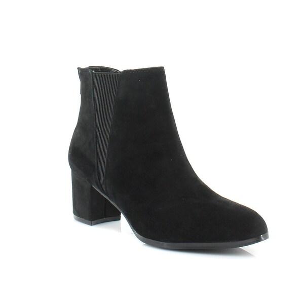 Alfani Vitaa Women's Boots Black Suede
