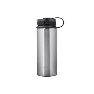 Monoprice Pure Outdoor Vacuum Sealed Wide-Mouth Water Bottle - 18 fl. oz. - Stainless Steel