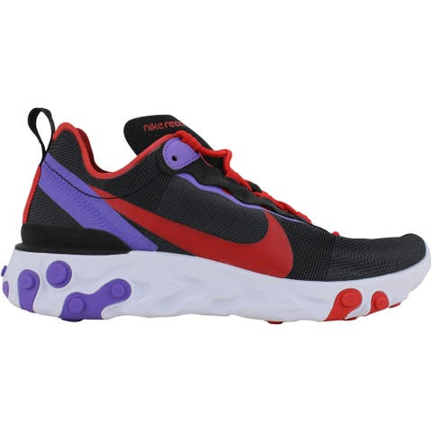 Nike React Element 55 Black/University Red CQ9903-001 Women's