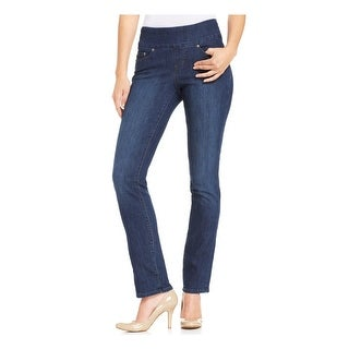 Jag Jeans Womens Peri Jeggings Anchor Wash Embroidered