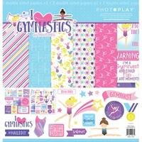 """Photoplay Collection Pack 12""""X12""""-I Love Gymnastics"""