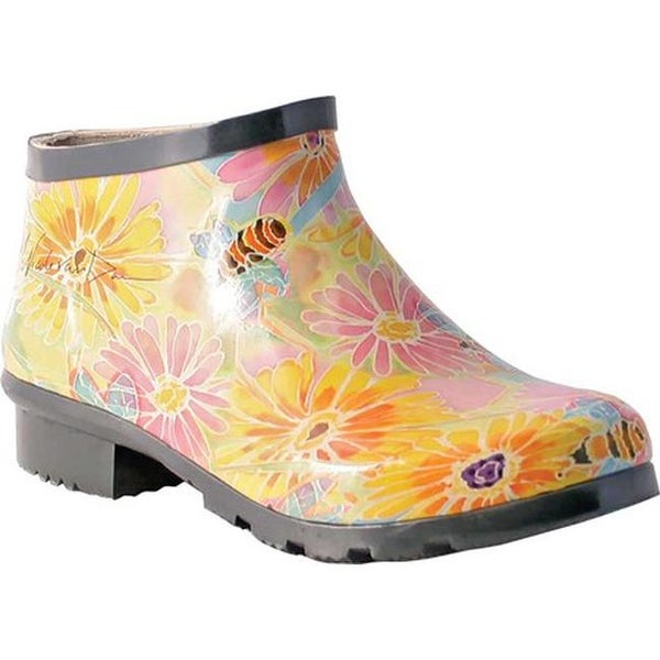 164dd297d4d Shop Nomad Women s Drip III Ankle Rain Boot Honey Bee Happy - On Sale -  Free Shipping On Orders Over  45 - Overstock - 25706677