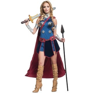Rubies Valkyrie Adult Costume - Blue (4 options available)
