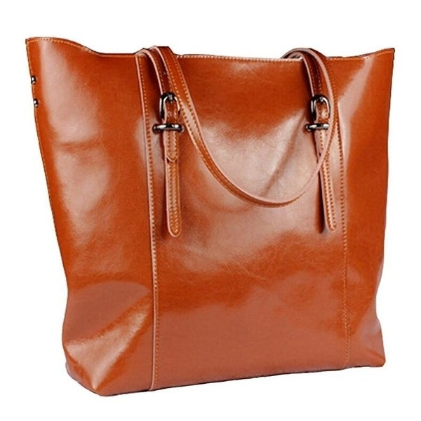 2c0a1ce5dae Women  x27 s Hobo Handbag Genuine Soft Leather Large Tote Shoulder Bag with  Removable