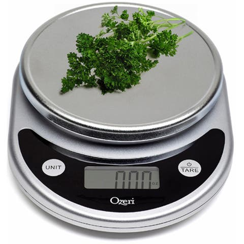 Ozeri Pronto Digital Multifunction Kitchen And Food Scale - Black