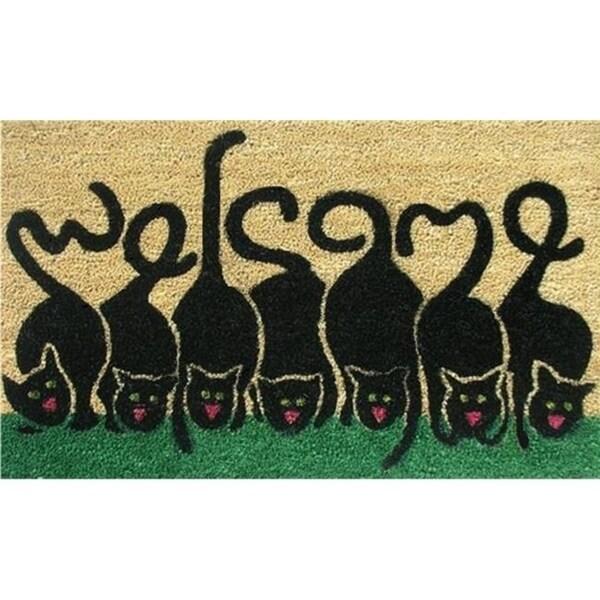 Home & More 12039 Cats Welcome Doormat