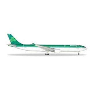 Herpa Wings 1-500 Aer Lingus Airbus A330-300 Pre-built Aircraft