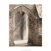 ''Luminous Archway'' by Ellen Fisch Architecture Art Print (17 x 14 in.)