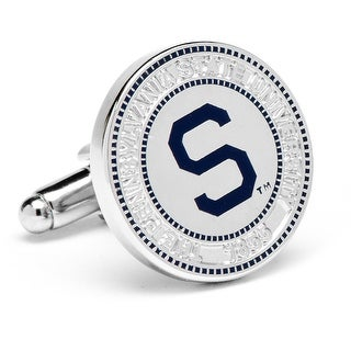 Penn State University Nittany Lions Vintage Logo Cufflinks - Blue