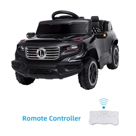 Electric Car Single drive Children Car with Battery Pre-Programmed Music and Remote control