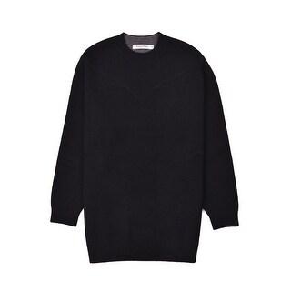 Dior Women's Black Cashmere J'Adior 8 Crewneck Sweater