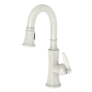 Newport Brass 1200-5223 Pullout Spray High-Arc Bar / Prep Faucet from the Metropole Collection
