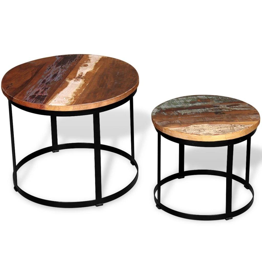 Vidaxl Two Piece Coffee Table Set