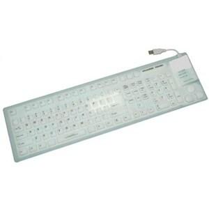 Grandtec FLX-7000 Grandtec FLX-7000 Keyboard - USB - 109 Keys - White