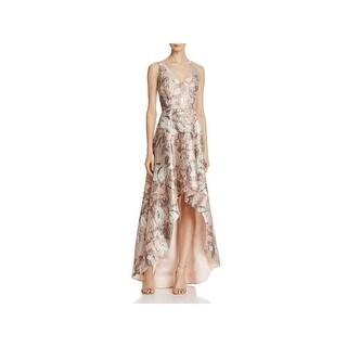 Aidan Mattox Womens Evening Dress Sleeveless Hi-Low