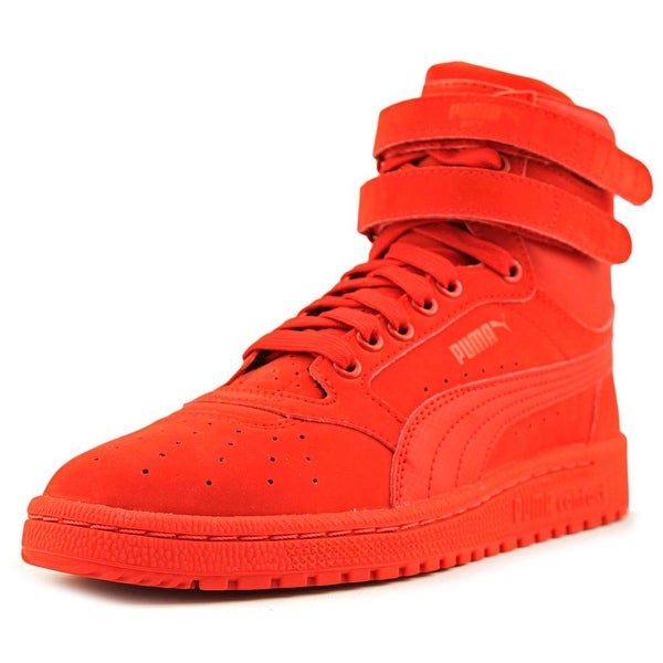 8793d75fcbe3 Shop Puma Sky II Hi Boy High Risk Red Athletic Shoes - Free Shipping ...