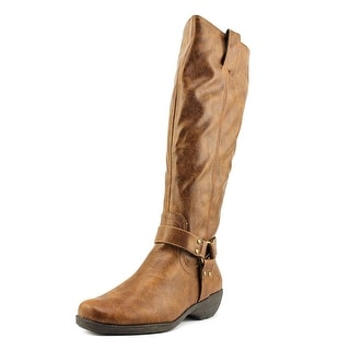A2 By Aerosoles In An Instint Women Round Toe Synthetic Brown Knee High Boot