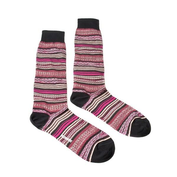 Missoni GM00CMU5236 0002 Pink/Wine Knee Length Socks - M