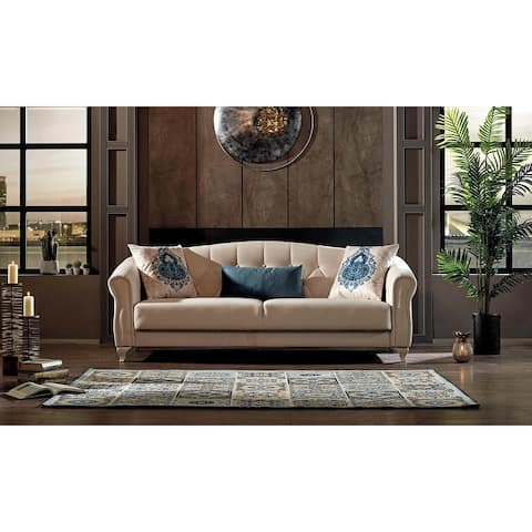 DiscountWorld Melody Living Room Set (Two 3 Seat Sofas And Two Chairs) (3-3-1-1)