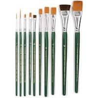 10/Pkg - One Stroke Brush Set