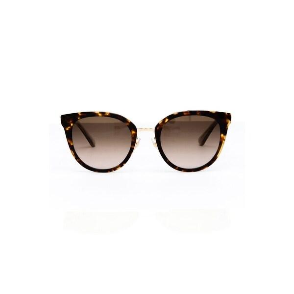 6a2b82ffd50 Shop Kate Spade Jazzlyn Women s Metal Sunglasses - Havana Gold - One ...