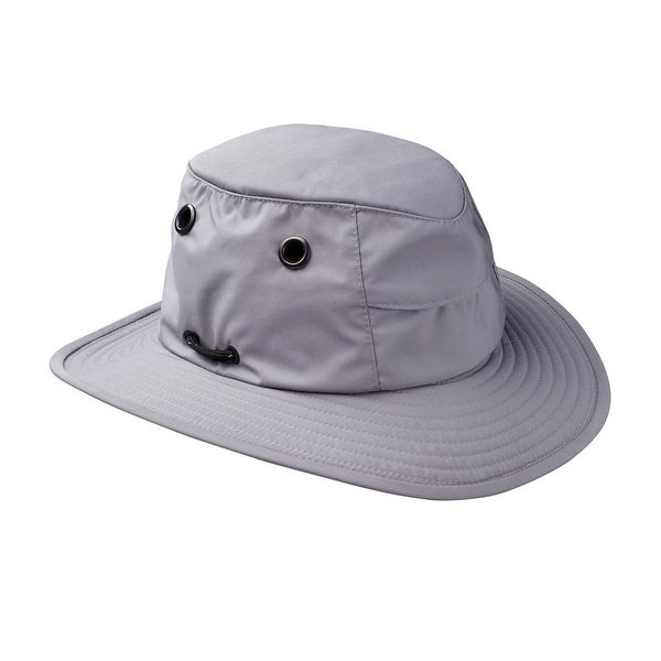 Tilley TTCH1 Water Repellent Tec-Cool Hat with Broad Brim - Grey