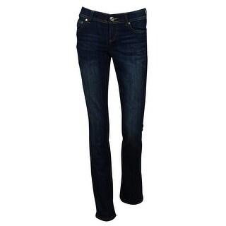 INC International Concepts Women's Straight Leg Regular Fit Denim Jeans - 0