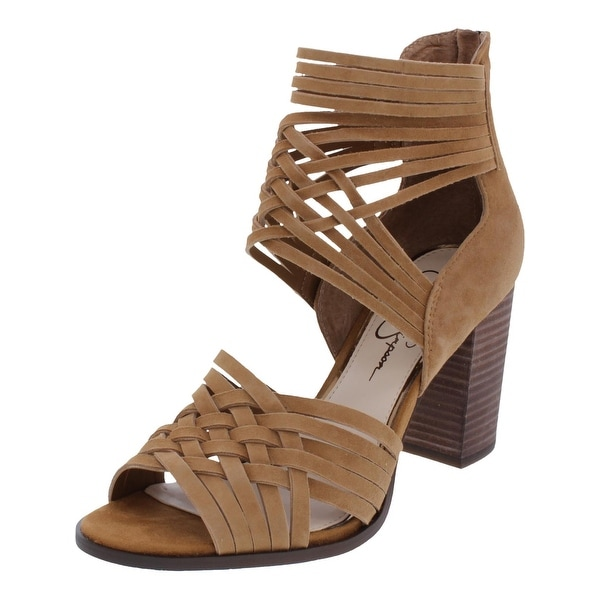 087b93858d8 Shop Jessica Simpson Womens Reilynn Gladiator Sandals Woven Block ...
