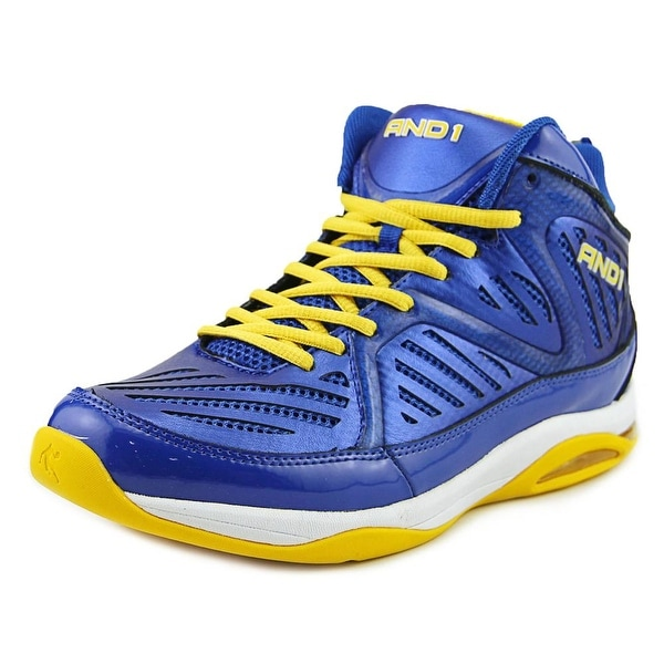 And1 Challenger Men Blue/Yellow Basketball Shoes