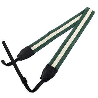 SHETU Authorized Camera Anti-slip Shoulder Strap Belt Green Beige for DSLR SLR