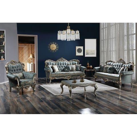 DiscountWorld Yorick Living Room Set (3-3-1-1)