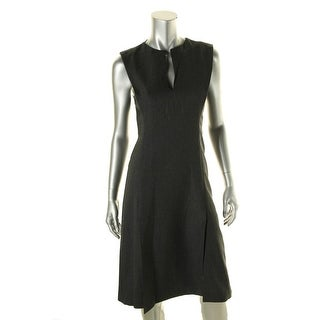 Zara Womens Wool Slits Wear to Work Dress - M