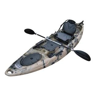BKC UH-RA220 11-Foot 6-inch Angler Sit On Top Fishing Kayak (Option: Camo)
