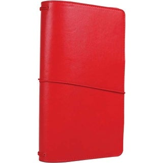"Red - Echo Park Traveler's Notebook 6""X9"""