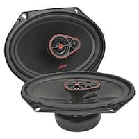 6 x 8 in. HED Series 3-Way Coaxial Speakers, 360 Watts max