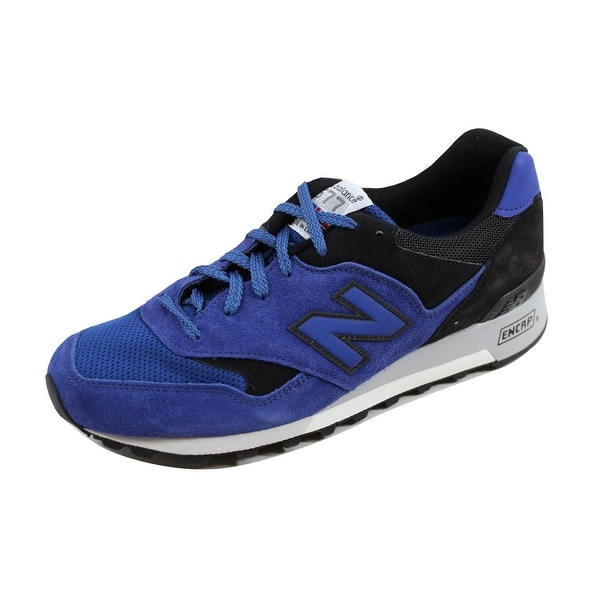 New Balance Men's 577 Blue/Black M577SBK