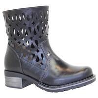 Dromedaris Women's Kenza Black Leather