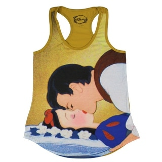 Link to Disney Junior's Snow White Loves First Kiss Racer Back Tank Top Similar Items in Tops