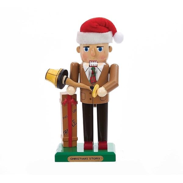 "A Christmas Story Mr. Parker with Leg Lamp 11"" Nutcracker"