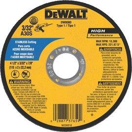 """DeWalt 4-1/2"""" 30G Cutoff Wheel"""
