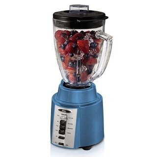 Oster BCCG08-SB0-027 Rapid Blend 300 Plus 8-Speed 6-Cup Blender Blue